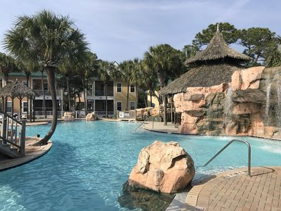 Photo for Family Friendly Vacation @ Purple Parrot Resort; Poolside Tiki Bar & Live Music!