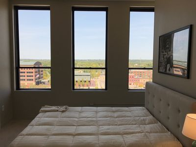 Photo for Brand new, stellar views, hip space in true downtown urban living!