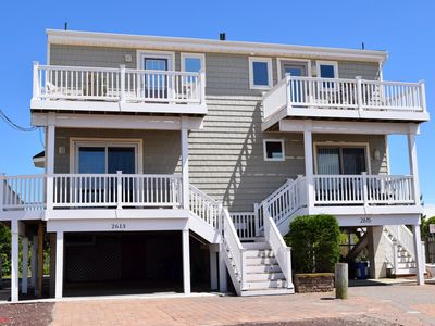 Photo for Awesome Ocean Views. Steps to the beach. Book this unit today!!