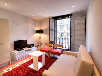Photo for Apartment in the center of Barcelona with Internet, Air conditioning, Lift, Parking (743426)