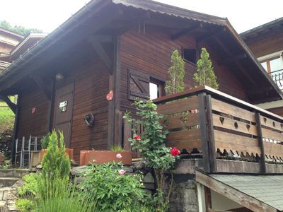 Photo for Small chalet 40m2 cocooning 2 bedrooms (2 or 3 people) MORZINE