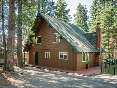 Photo for NEW LISTING! Rustic cabin with gorgeous views and location close to Shaver Lake!