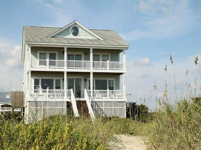 Photo for Geneva, Too: 5 BR / 4 BA home in Oak Island, Sleeps 10