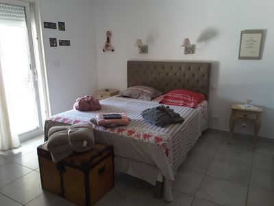 Photo for Master bedroom - swimming pool - quiet - 4km from Uzès B & B