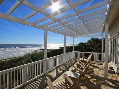 Photo for Fantastic Oceanfront House w/Large Oceanfront deck!