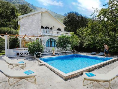 Photo for Large Stone Villa With Private Pool And Garden