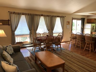 Photo for Ketchikan Northern Retreat - Two Bedroom Apartment with Cathedral Ceilings