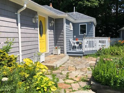 Photo for Adorable, spacious coastal cottage a short walk to the beaches—Bring your dog