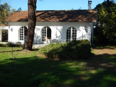 Photo for Small house with garden in Claouey, on the Cap Ferret pennisula
