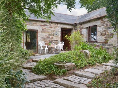 Photo for Cobble, quirky 1 bedroom converted barn in Cardinham Woods, sleeps 4