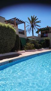Photo for Family friendly apartment mountain views 500 meters to beach  large pool