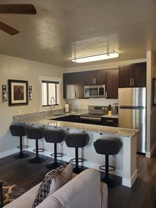Photo for NEWLY REMODELED In Town Duplex, Steps Away From YNP
