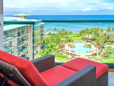 Photo for K B M Hawaii: Ocean Views, Panoramic Views! 3 Bedroom, FREE car! Oct, Nov, Dec Specials From only $479!