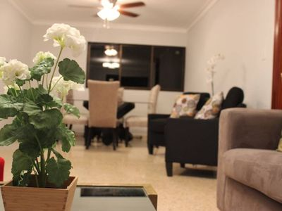Photo for BEAUTIFUL WiFi Apt + AC in heart of Santo Domingo