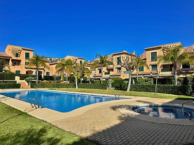Photo for 2 bedroom Apartment, sleeps 4 in Javea with Pool, Air Con and WiFi