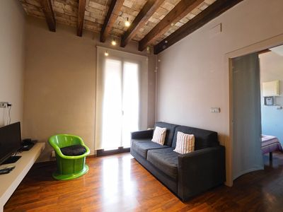Photo for Suite Gracia apartment in Gràcia with air conditioning & balcony.