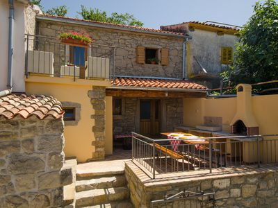 Photo for Krancic 2 -NEW Traditional Istrian house overlooking the lake - 10% OFF June & July