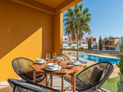 Photo for Comfortable 2 bedroom apartment, near Galé beach and Salgados golf course