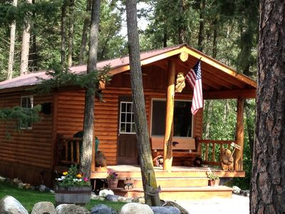 Photo for 'New'  Country Cabin- Near Glacier National Park & Whitefish MTN Ski