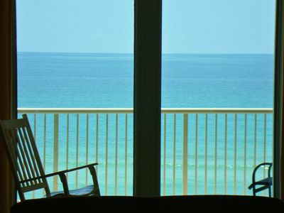 Photo for Newly renovated, ultimate in cleanliness, waterfront, largest beachfront balcony