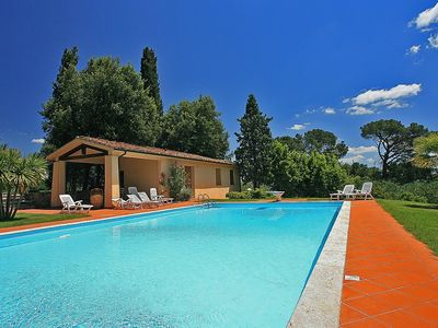 Photo for Villa Arconte D: A welcoming apartment that is part of a villa surrounded by the greenery, with Free WI-FI.