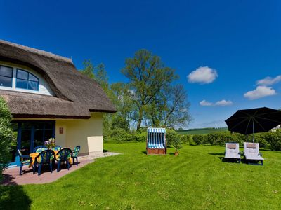 Photo for Thatched cottage Yew 2, 8 persons, fireplace, sauna, W-Lan - DHH Yew 2
