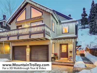 Photo for NEW 4Bd Remodeled Ski Property:Top of Main Street, The Townhouse Sleeps 8+