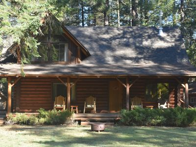 Photo for Riverfront Farwood Cabin Retreat