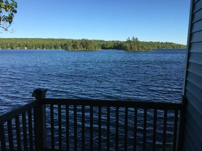 Photo for Charming Lake front Cottage w/dock close to Acadia National Park & Bar Harbor