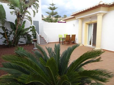 Photo for Modern, well maintained villa with stunning sea views, private pool, Wi-Fi, air conditioning