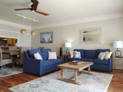 Photo for Oceanfront beautiful 2 Bdrm condo in Kaihuna Plantation