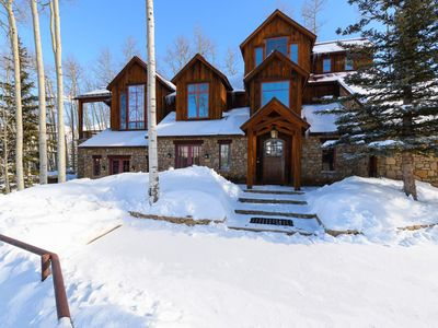Photo for Ski-in, Ski-out Luxury Home with Private Hot Tub, Pets Considered: Powder Place