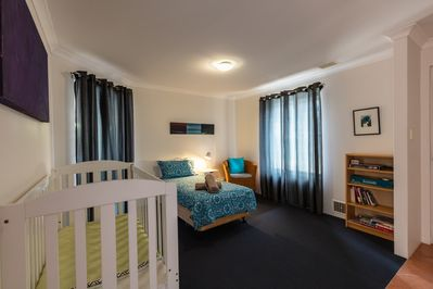 Bedroom with cot