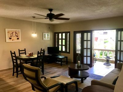 Photo for Fully Equipped, Beachfront Condo in Adventurous Cabarete