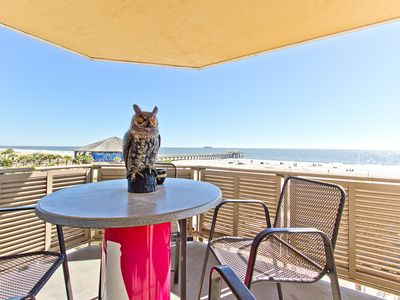 Photo for Top-Floor Oceanfront Corner Condo with Whirlpool Tub, Steps from Beach, Pier, Shops, and Dining