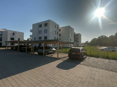 Photo for Family apartment directly on the harbor - Apartment Seenland