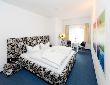 Photo for Double room Classic - artHOTEL Magdeburg GmbH