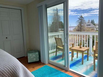 Photo for Charming house with ocean view in beach community located in mid-coast Maine.