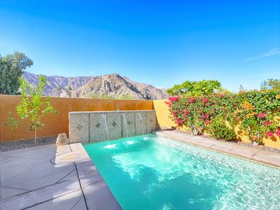 Photo for Stunning, unobstructed views with lounging pool. Across the street from trail.