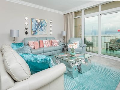 Photo for BEACH FRONT! ~ 3 Bedroom ~ NEW Phoenix Orange Beach!