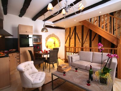 Photo for Le Gîte Barry -4 people- cottage for rent in the heart of the old town of Sarlat