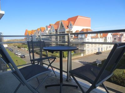 Photo for Nice T2 with side view Sea, 1 bedroom, rental for 4 people LE TOUQUET