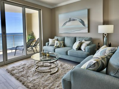 Photo for 13th floor 2br/2ba Ocean Villa beautiful unit Sleeps 6
