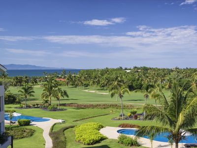 Photo for Ocean View Penthouse in Punta Mita, Golf Cart, Maid, Premier Golf Membership