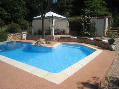 Photo for Independent 2 room apartment in villa with pool, AIX EN PROVENCE (13)