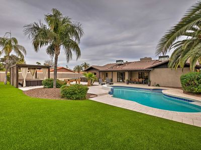 Photo for Contemporary Scottsdale Home w/Patio,Cabana & Pool