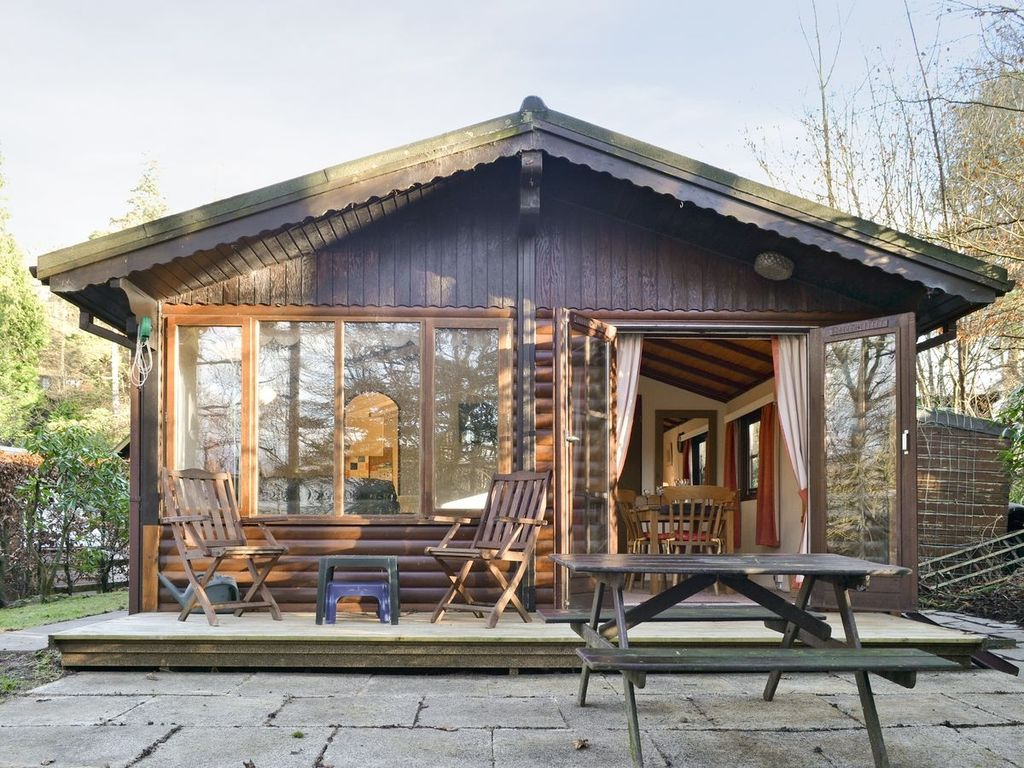 Boltons Tarn Luxury Log Cabin, Wheelchair Accessible Lodge in The ...