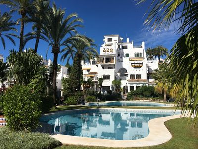Photo for Lovely apartment within walking distance to Puerto Banus and the beach