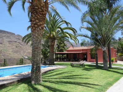 Photo for Lovely house in the sunniest Valley of the Island, only 10 min from Pto de Mogan