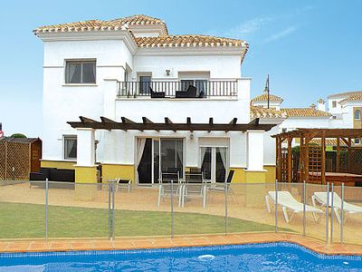 Photo for Modern villa on La Torre Golf Resort w/ private pool, lawned garden + hot tub